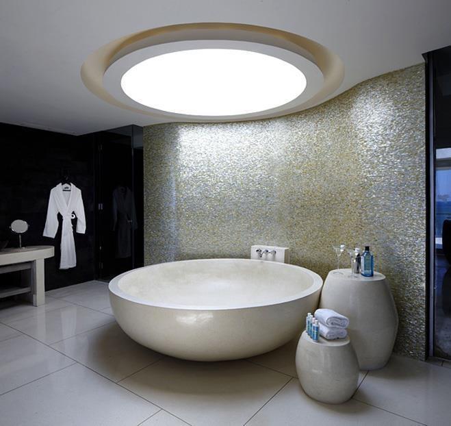 la iluminacin en los techos modernos