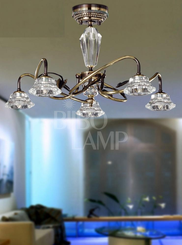 Lámpara Clásica de 5/Brazos de Bilbolamp