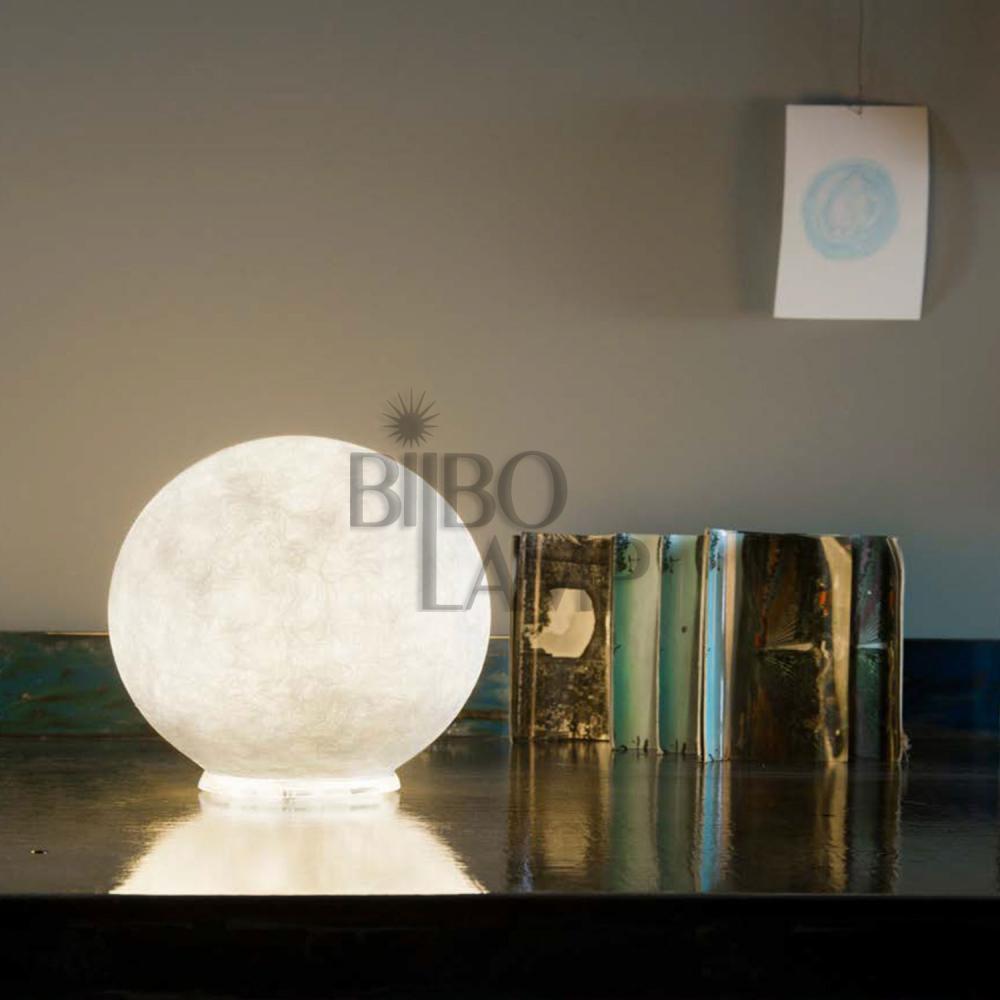 Lámpara de Sobremesa Moderna Luna de Bilbolamp