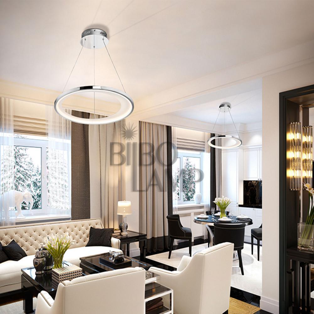 Lámpara Colgante Laris de Altura Regulable en Led Dimable de Bilbolamp