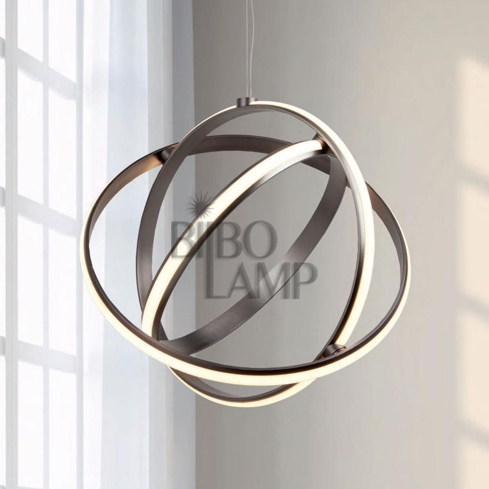 Lámpara Orbita de 3 Aros en Led