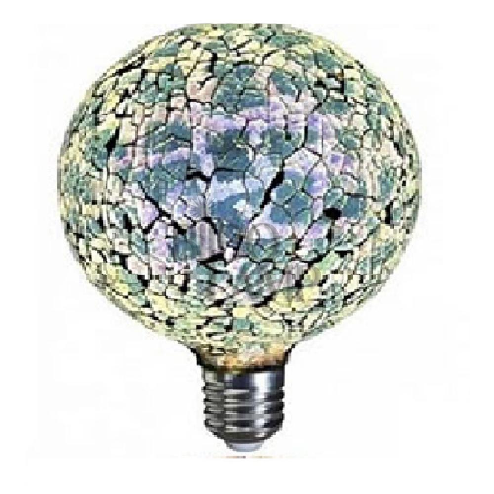 Bombilla Decorativa de Led Tiffany en Azul