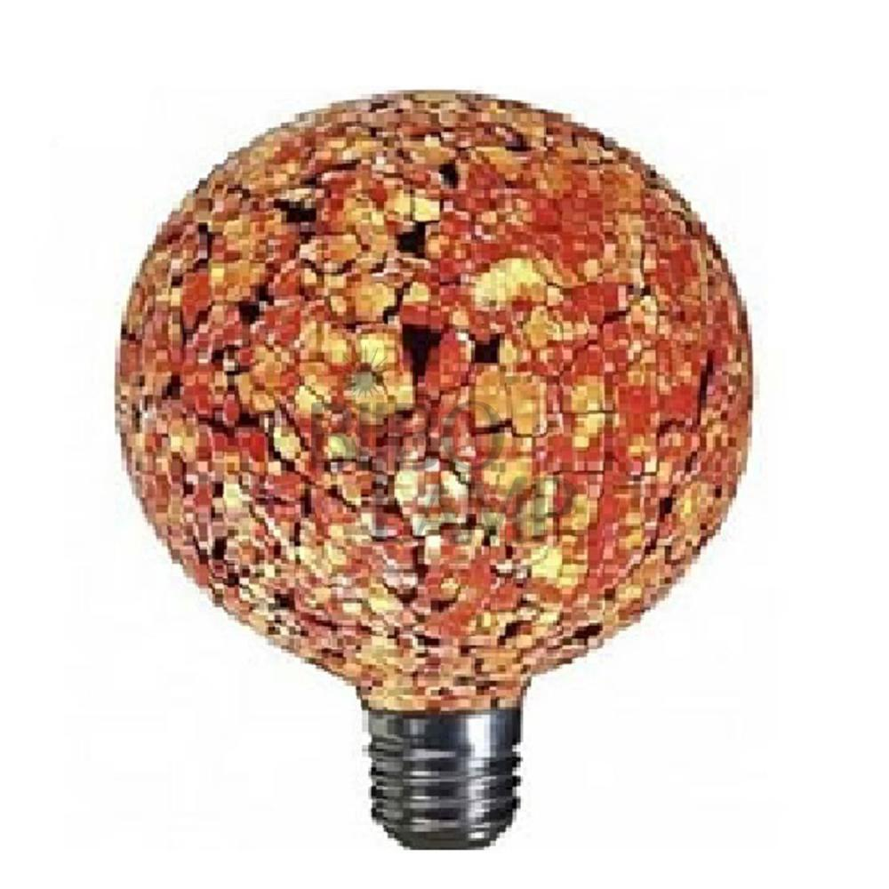Bombilla Decorativa de Led Tiffany Naranja
