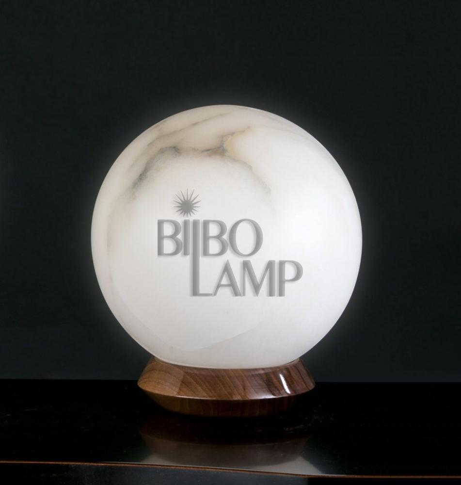 Lámpara de Sobremesa de Diseño en Alabastro de Bilbolamp