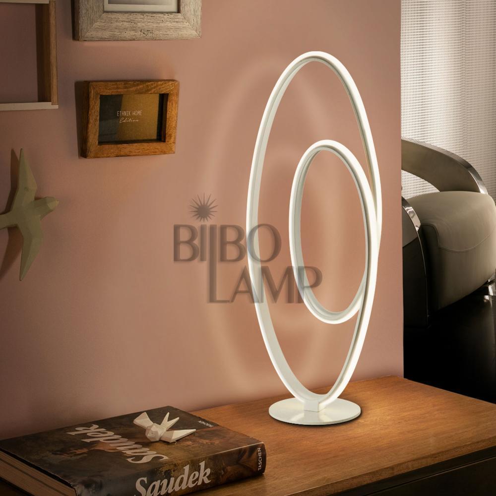 Lámpara de Sobremesa Loop de Bilbolamp
