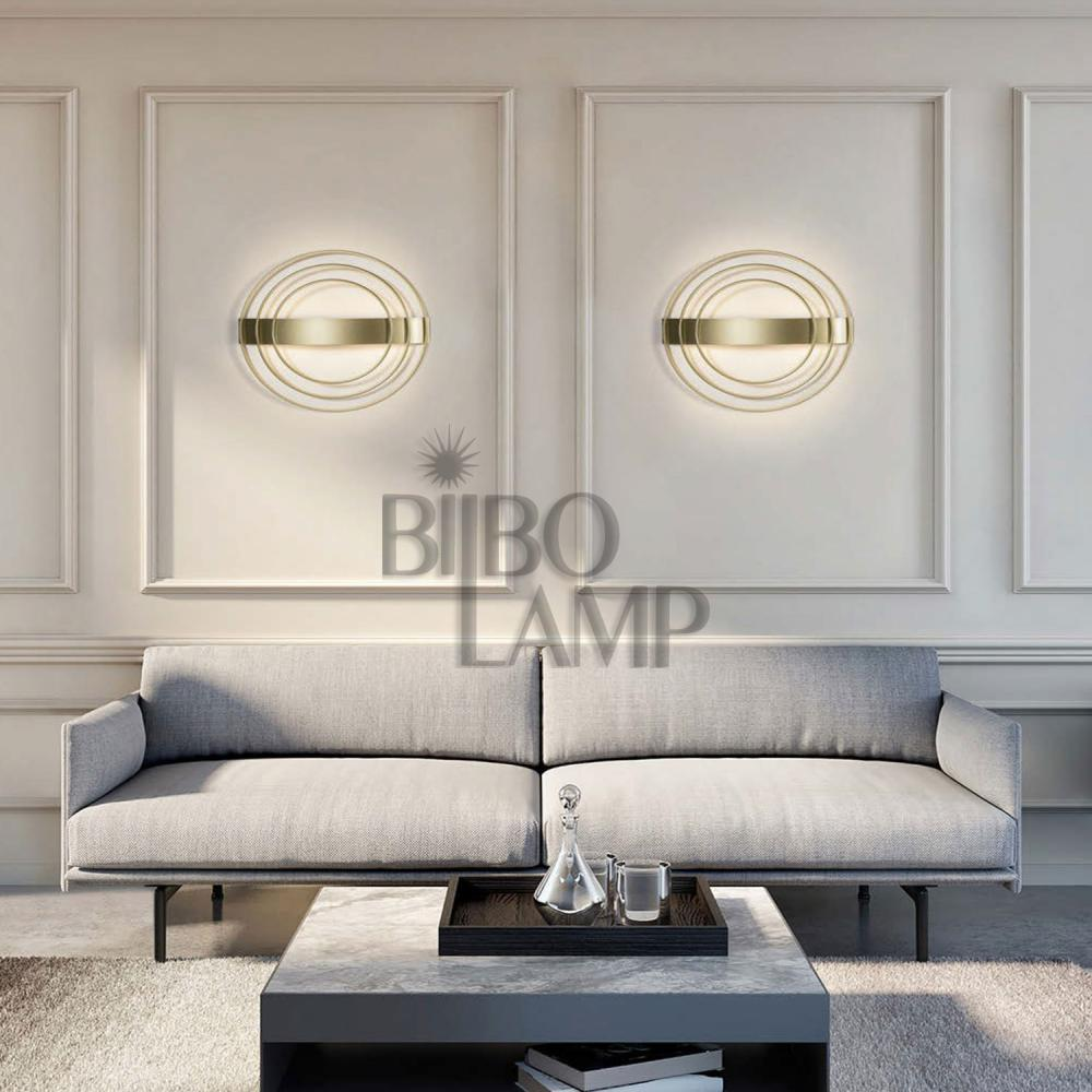 Aplique Moderno de Led disponible en Oro o Blanco