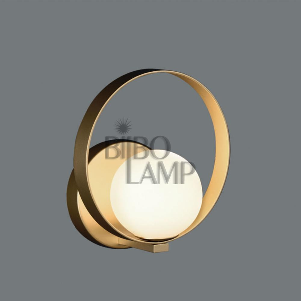 Aplique Moderno de Led en Oro Técnico de Bilbolamp