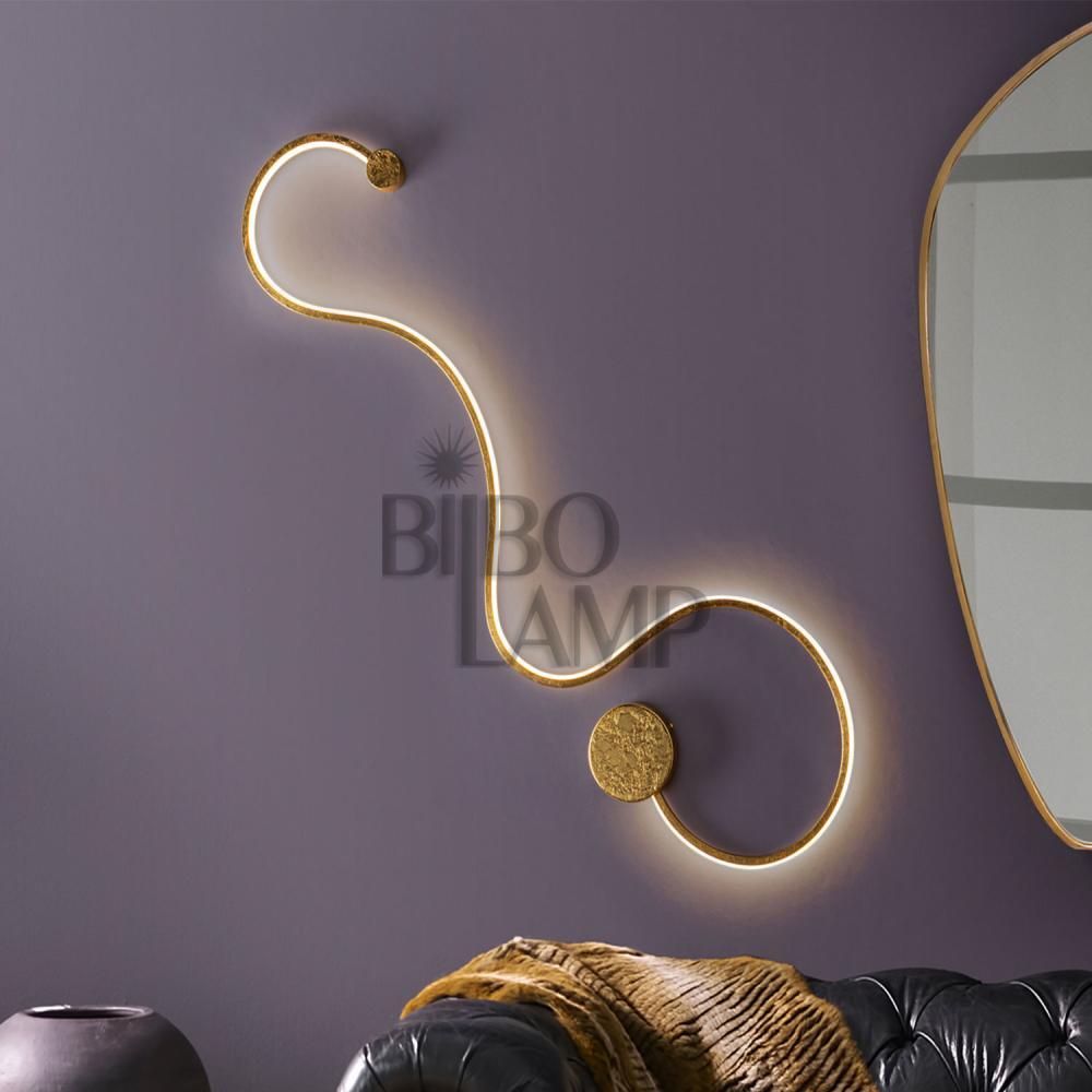 Aplique Grafos Grande de Bilbolamp