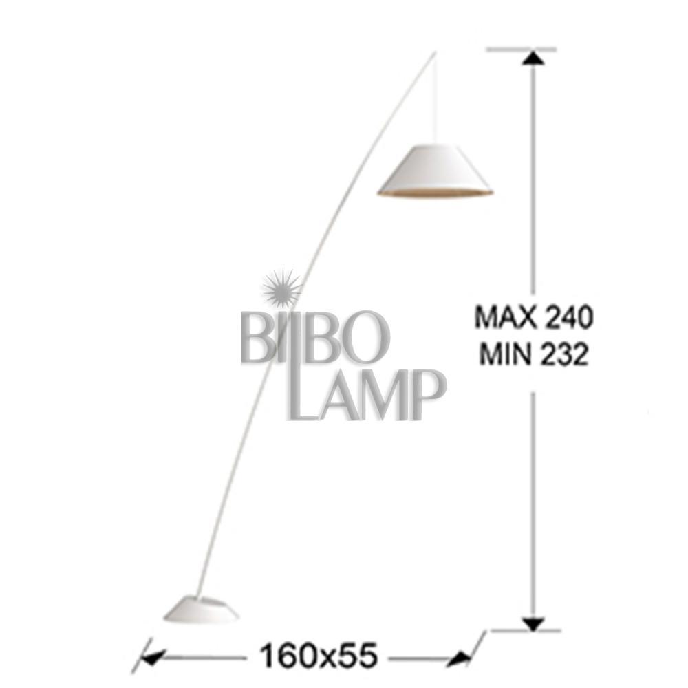 Lámpara de Pie Junco de Bilbolamp