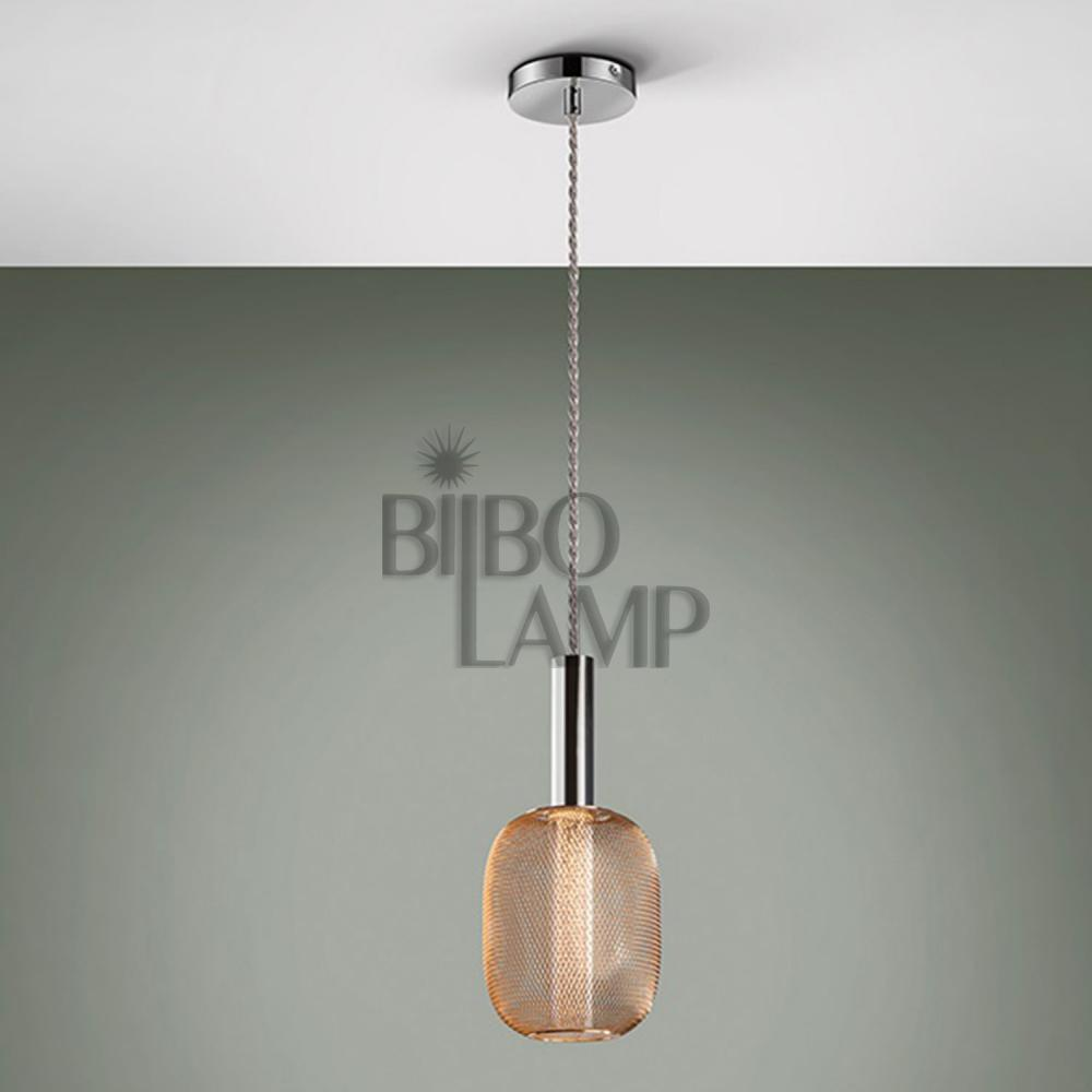 Lámpara Micrón de 1/luz  Cromo/Oro de Bilbolamp