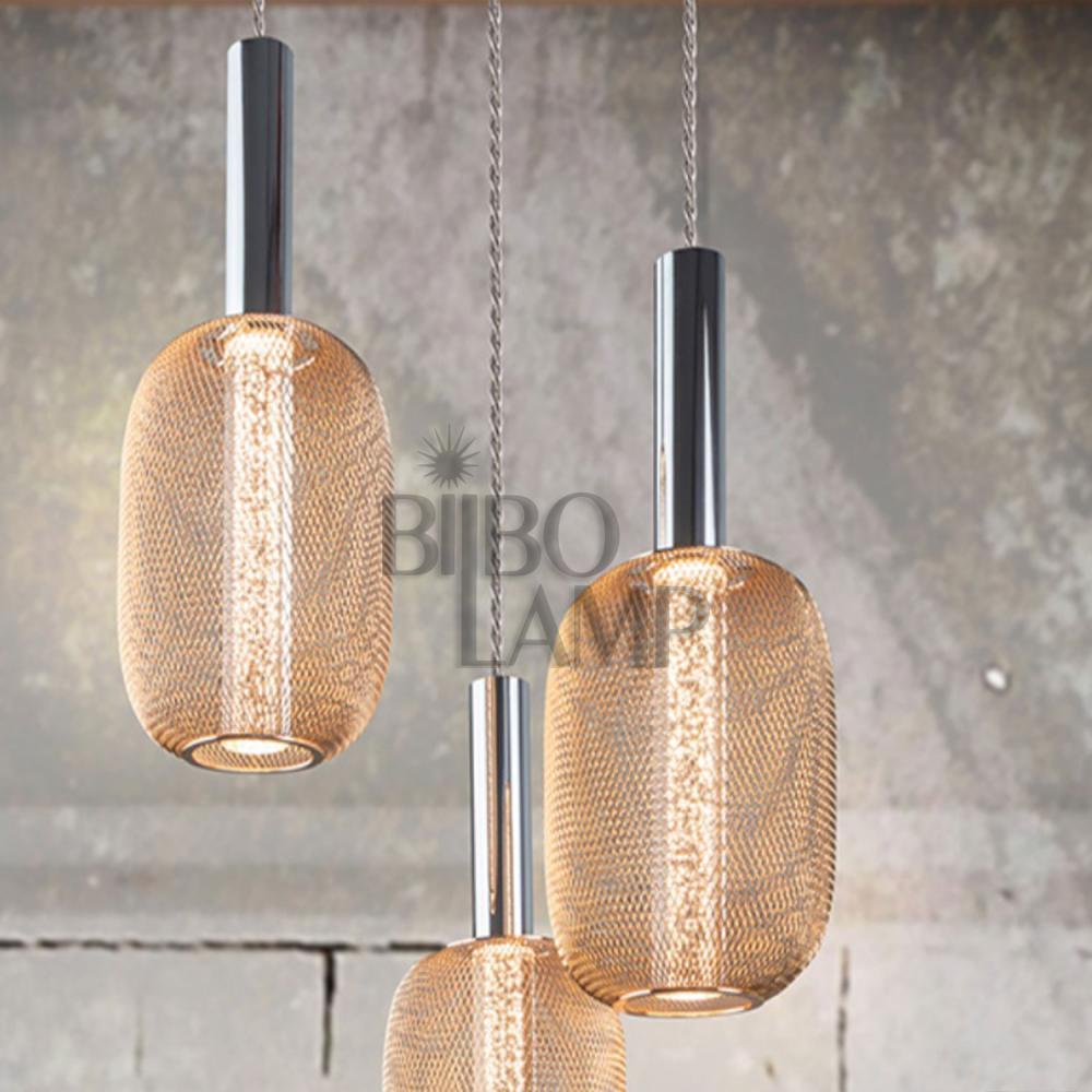Lámpara Colgante Micrón 3/luces de Bilbolamp