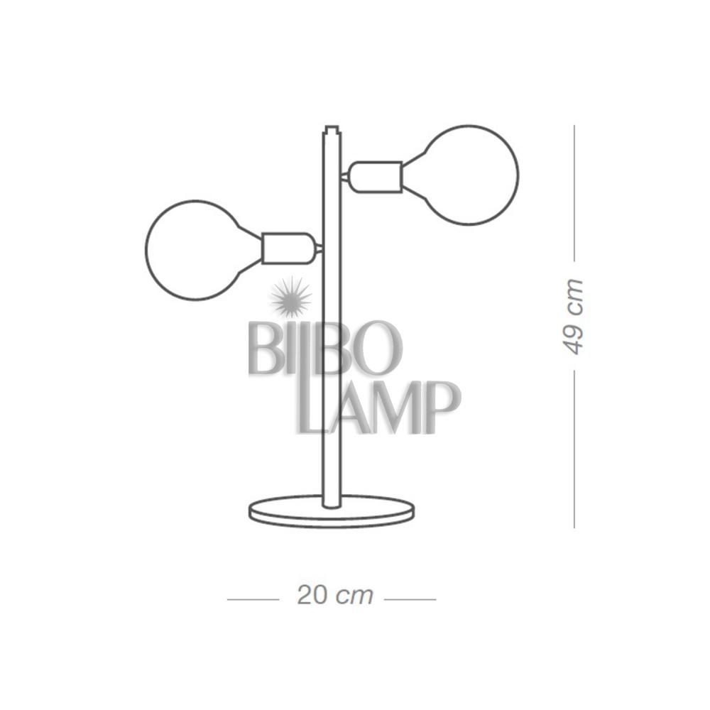 Lámpara de Sobremesa Tilt de Bilbolamp