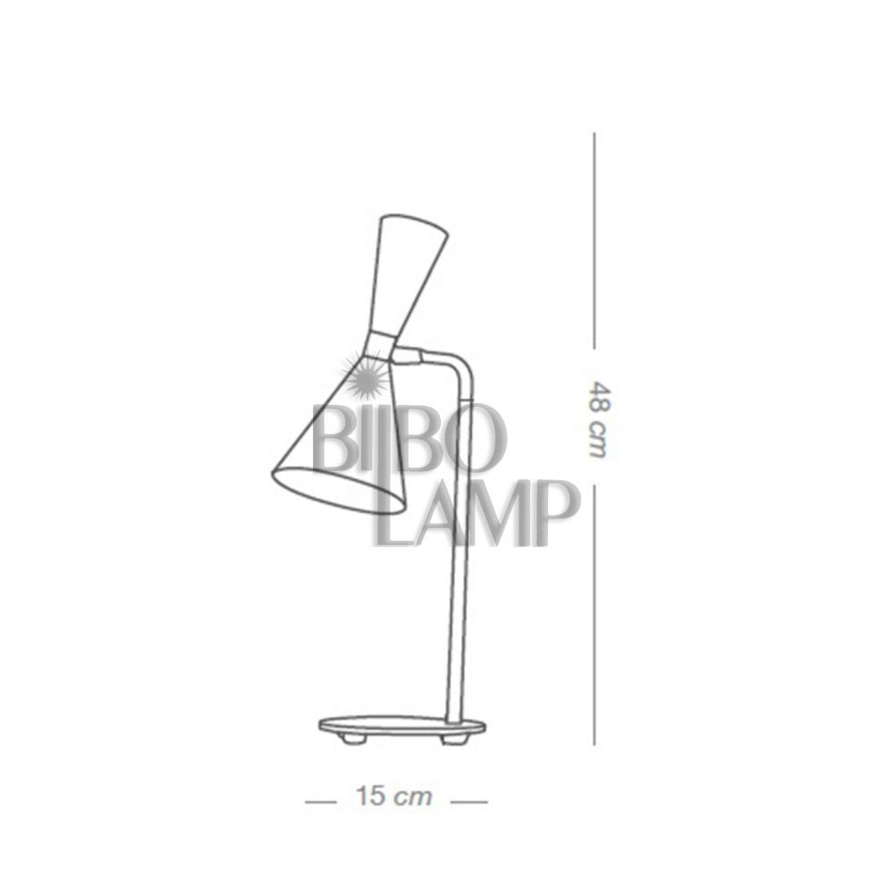 Lámpara de Sobremesa Step de Bilbolamp