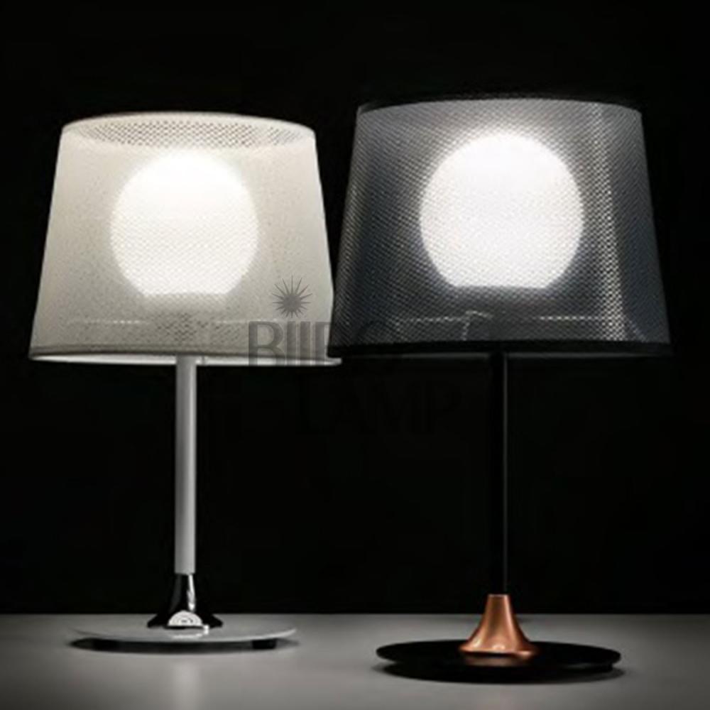 Lámpara de Sobremesa Zurich en Blanco o Negro de Bilbolamp