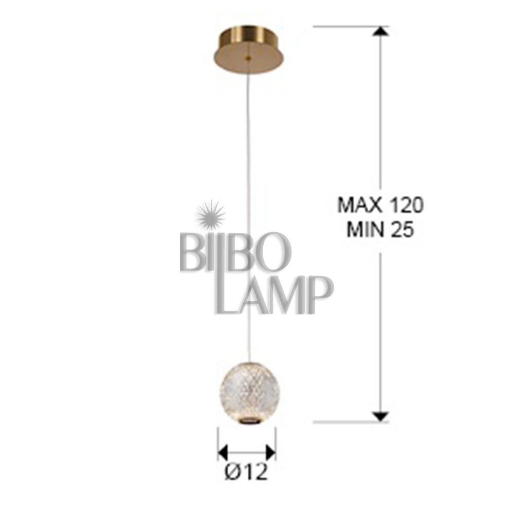 Colgante de Led Austral de Bilbolamp