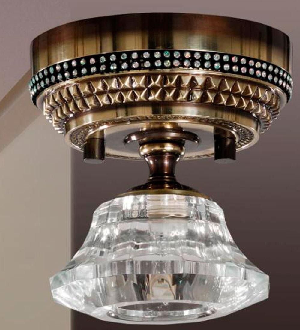 Foco de superficie en  cristal de Bilbolamp