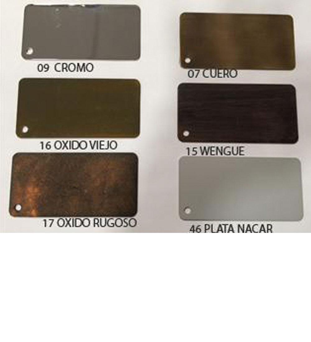 Carta Colores58