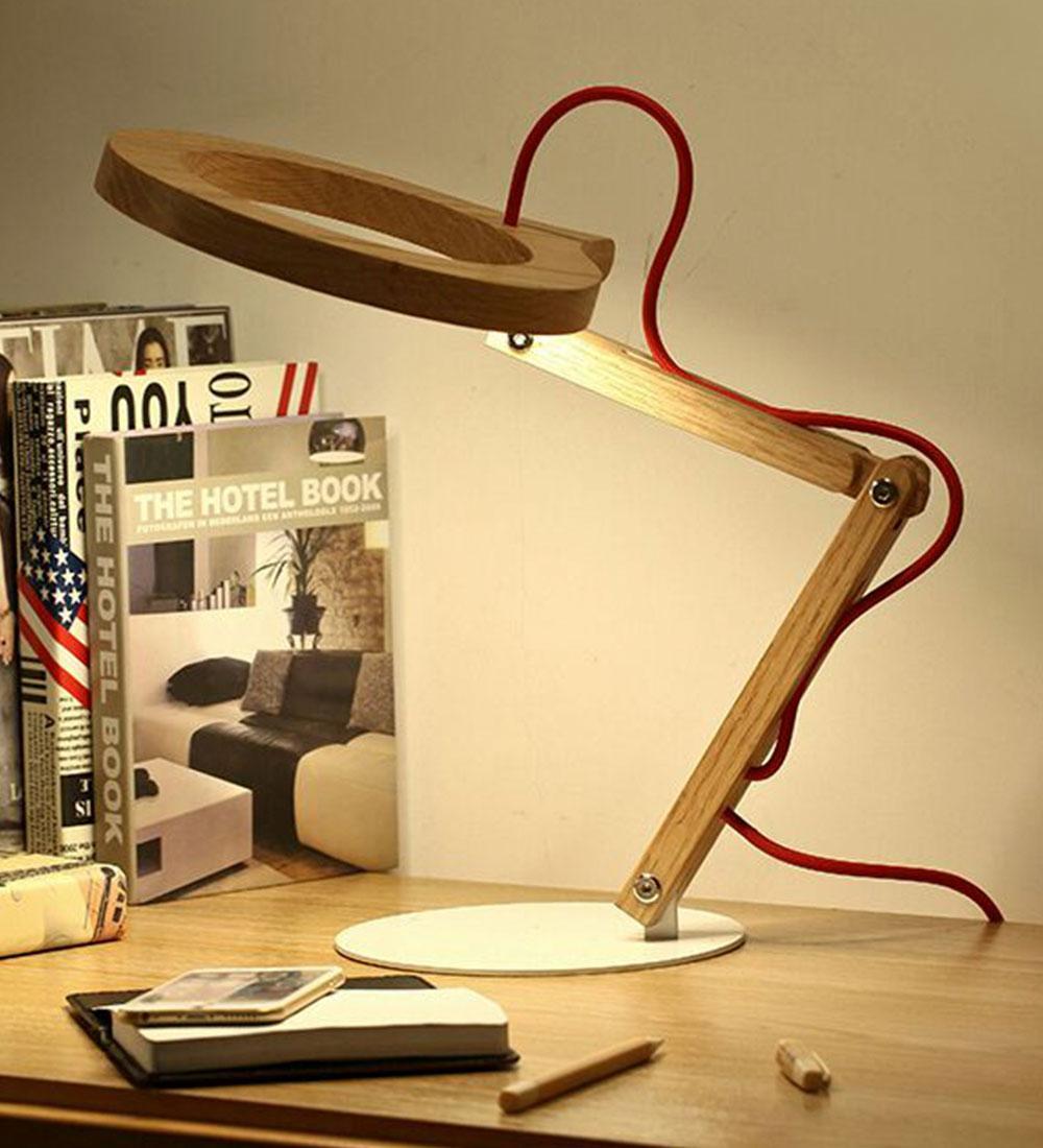 Lámpara de Sobremesa en Led  Geminis 10w de Bilbolamp