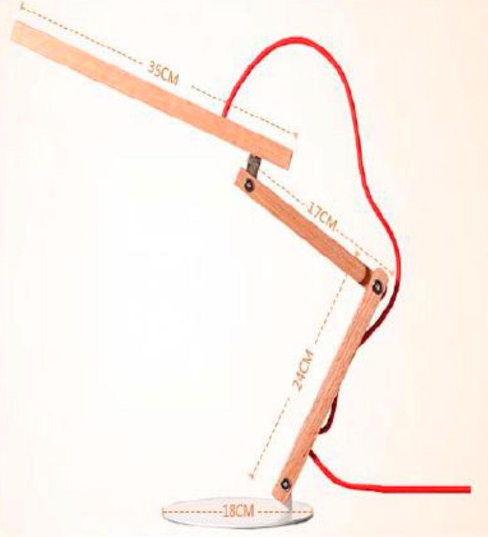 Lámpara de Sobremesa en Led Piscis de  10w de Bilbolamp